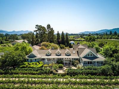 Napa County Single Family Home For Sale: 1500 Zinfandel Lane