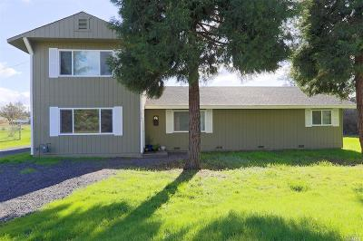 Redwood Valley Single Family Home For Sale: 1901 Held Road
