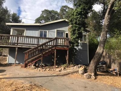Clearlake Single Family Home For Sale: 14370 Uhl Avenue