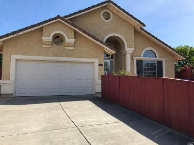 Fairfield CA Single Family Home For Sale: $498,000