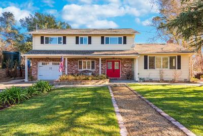 Santa Rosa Single Family Home For Sale: 6033 Mark West Lane