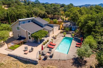Napa County Single Family Home For Sale: 5 Greenfield Way