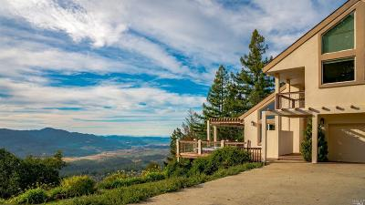 Angwin CA Single Family Home For Sale: $1,825,000