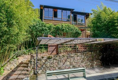 Mill Valley CA Single Family Home For Sale: $1,450,000