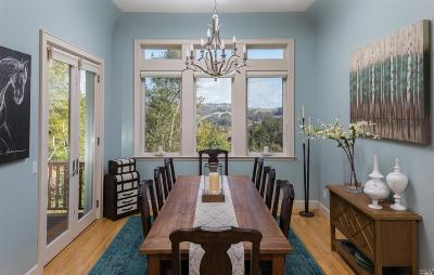 San Anselmo Single Family Home For Sale: 376 Redwood Road