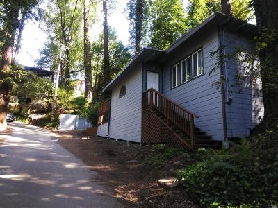 Guerneville CA Single Family Home For Sale: $375,000