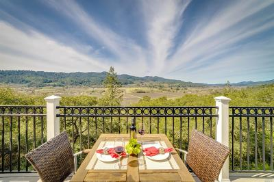 St. Helena Single Family Home Contingent-Show: 3428 Silverado Trail North