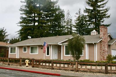 St. Helena Single Family Home For Sale: 1816 Park Street