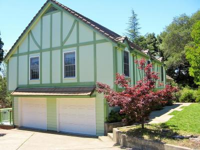 Ukiah CA Single Family Home For Sale: $749,000