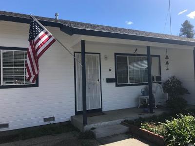 Napa Single Family Home For Sale: 8 Chelsea Avenue