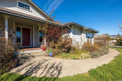 Lake County, Marin County, Mendocino County, Napa County, Solano County, Sonoma County Single Family Home For Sale: 460 Ralph Bettcher Drive