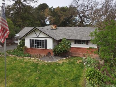 Santa Rosa Single Family Home For Sale: 2771 Chanate Road