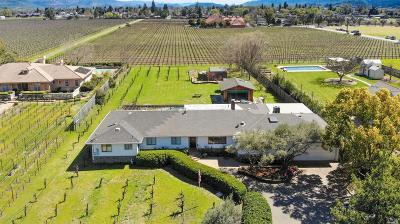 St. Helena Single Family Home For Sale: 1031 White Lane