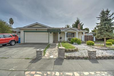 American Canyon Single Family Home For Sale: 117 Brophy Street