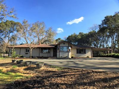 Redwood Valley CA Single Family Home For Sale: $479,900