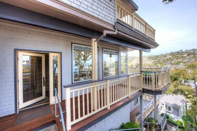 Tiburon Single Family Home For Sale: 80 Eastview Avenue