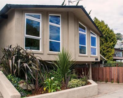 Sausalito Single Family Home For Sale: 115 3rd Street