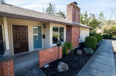Santa Rosa Single Family Home Contingent-Show: 13 Woodgreen Street