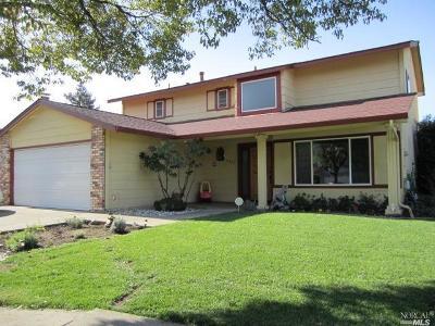 Napa Single Family Home For Sale: 4025 Fairfax Drive