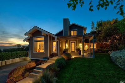 Tiburon Single Family Home For Sale: 34 Meadow Hill Drive