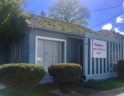 Napa County Commercial For Sale: 1627 Lincoln Avenue