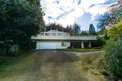 Ukiah Single Family Home For Sale: 989 Fairway Avenue