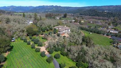 St. Helena CA Single Family Home For Sale: $4,595,000