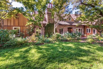 San Anselmo Single Family Home For Sale: 158 Prospect Avenue