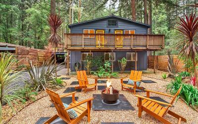 Guerneville Single Family Home For Sale: 14550 Old Cazadero Road
