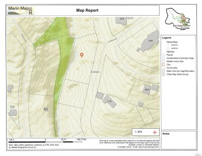 Marin County Residential Lots & Land For Sale: Larch Road