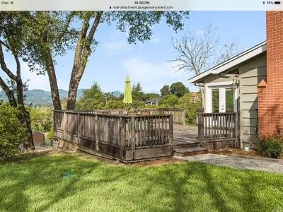 Healdsburg Single Family Home For Sale: 14462 McDonough Heights Road