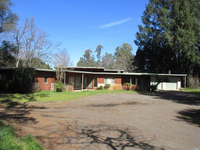Kelseyville Single Family Home For Sale: 2850 Merritt Road