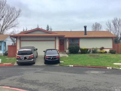 American Canyon Single Family Home For Sale: 2555 Flosden Road #5