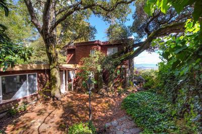 San Anselmo Single Family Home For Sale: 550 Sequoia Drive
