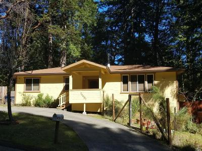 Willits Single Family Home For Sale: 24497 Rose Terrace