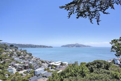 Sausalito CA Single Family Home For Sale: $2,499,000