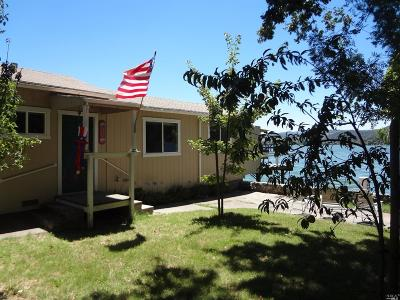 Clearlake Single Family Home For Sale: 14645 Lakeshore Drive