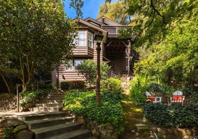 Mill Valley Single Family Home For Sale: 177 Oakdale Avenue