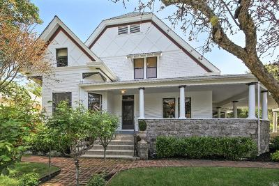 Sonoma Single Family Home For Sale: 786 Broadway