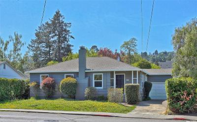 Mill Valley Single Family Home For Sale: 276 Sycamore Avenue