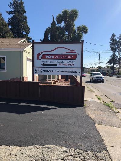 Santa Rosa CA Commercial For Sale: $1,500,000