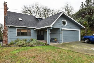Ukiah Single Family Home For Sale: 380 Jefferson Lane