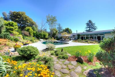 San Rafael Single Family Home For Sale: 135 Montecito Road