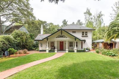 San Rafael Single Family Home For Sale: 145 Locust Avenue