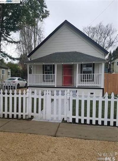 Napa County Multi Family 2-4 For Sale: 463 Cross Street
