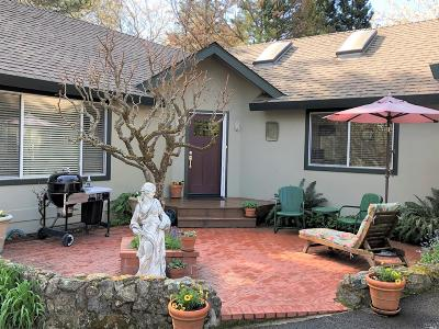 Angwin Single Family Home For Sale: 345 White Cottage Road North