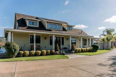 Sonoma Single Family Home For Sale: 420 Kelly Glen Lane