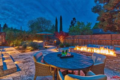 Yountville Single Family Home For Sale: 1906 Oak Circle