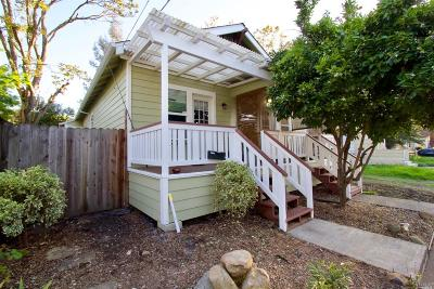 Sonoma County Multi Family 2-4 For Sale: 138 Lincoln Street