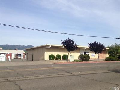 Ukiah CA Commercial For Sale: $1,595,000